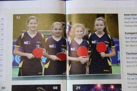 """Tischtennis pur im Magazin """"Tischtennis"""""""