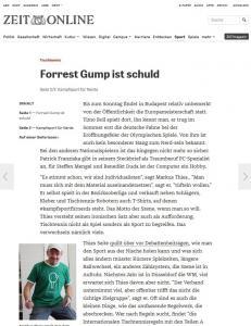 Artikel auf Zeit-Online: #kampfsportfuernerds