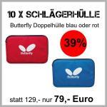 10 Butterfly Doppelhüllen Kombiangebot