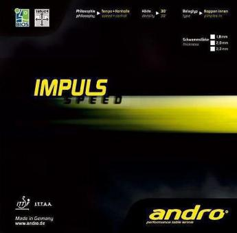 Andro Impuls Speed rot | 2,0 mm