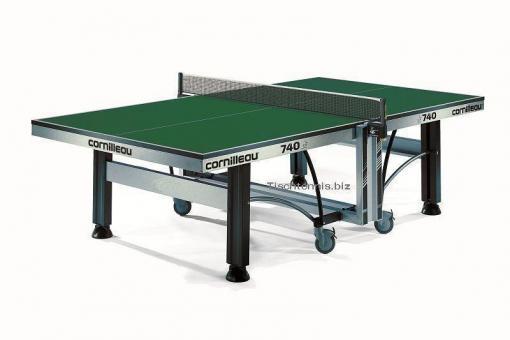 Cornilleau 740 ITTF Tischtennistisch grün