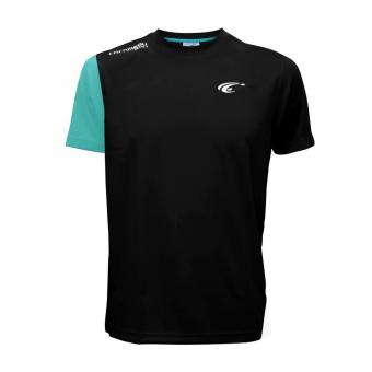 Cornilleau Tee Shirt Skill schwarz, XXS