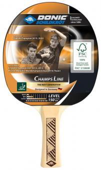 Donic Schildkröt Tischtennisschläger Champs Line 150 FSC