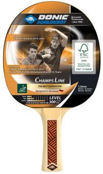 Donic Schildkröt Tischtennisschläger Champs 300 FSC