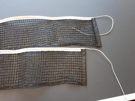 Sponeta Outdoor Ersatznetz mit Spannschur