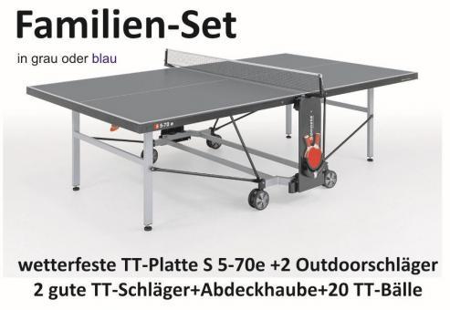 Spielset Premium Tischtennisplatte für die sportliche Familie