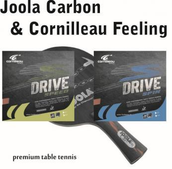 Tischtennisschläger Joola Carbon & Cornilleau Feeling