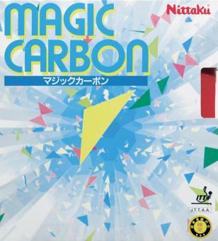 Nittaku Magic Carbon Tischtennisbelag schwarz | 1,6 mm