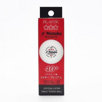 Nittaku Premium 40+ *** cellfree 3er