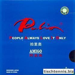 Palio Amigo Tischtennisbelag schwarz | 1,8 mm