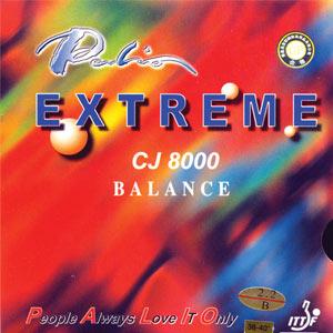 Palio Cj8000 Balance Tischtennisbelag rot | 2,0 mm