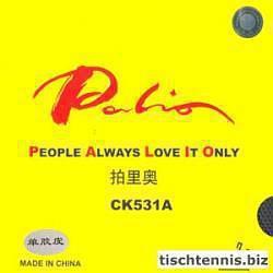 Palio CK531A Tischtennisbelag schwarz | 1,0mm
