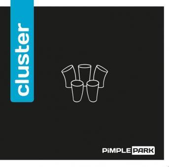 Pimplepark Cluster rot | 1,0mm