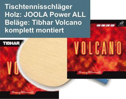 Tischtennisschläger Powerall/Volcano