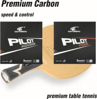 Premium Carbon Tischtennisschläger
