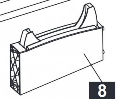 Sponeta Träger Schlägerhalterung