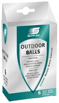 Sunflex Outdoor TT-Ball 6er