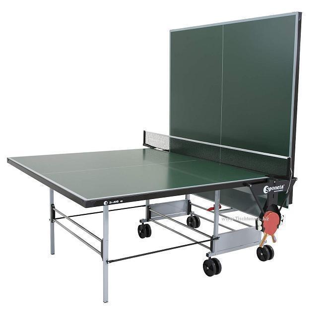 aktionspaket wetterfeste tischtennisplatte mit zubeh r hobby. Black Bedroom Furniture Sets. Home Design Ideas