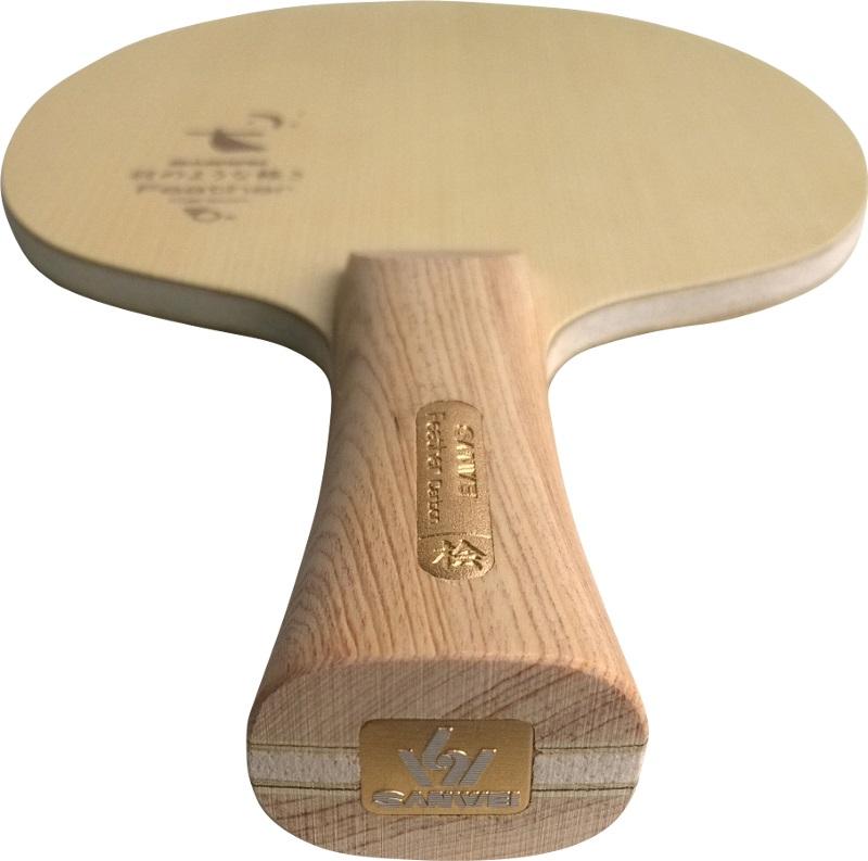 Hinoki gerade ~75 Gramm UvP 49.90€ Sanwei Tischtennisholz FEATHER CARBON ALL