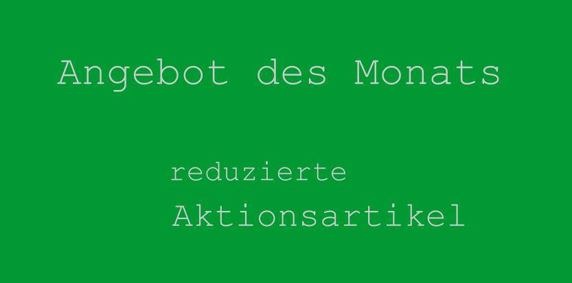 Banner Angebot des Monats