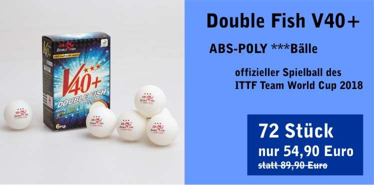 Double Fish V40+ ITTF