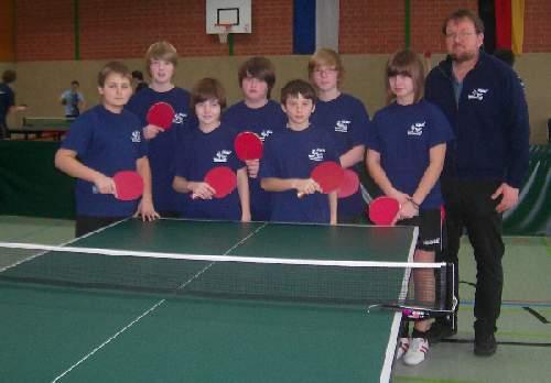 Tischtennis - AG der Paul-Gerhardt-Schule