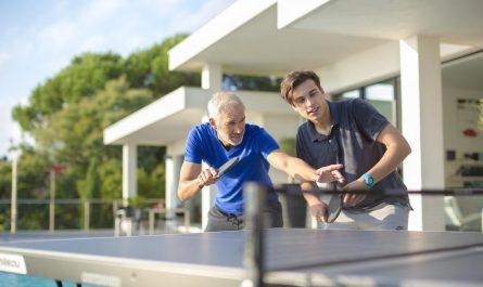 Absprungverhalten Tischtennisplatte
