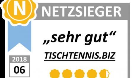 Tischtennis.biz ist sehr gut