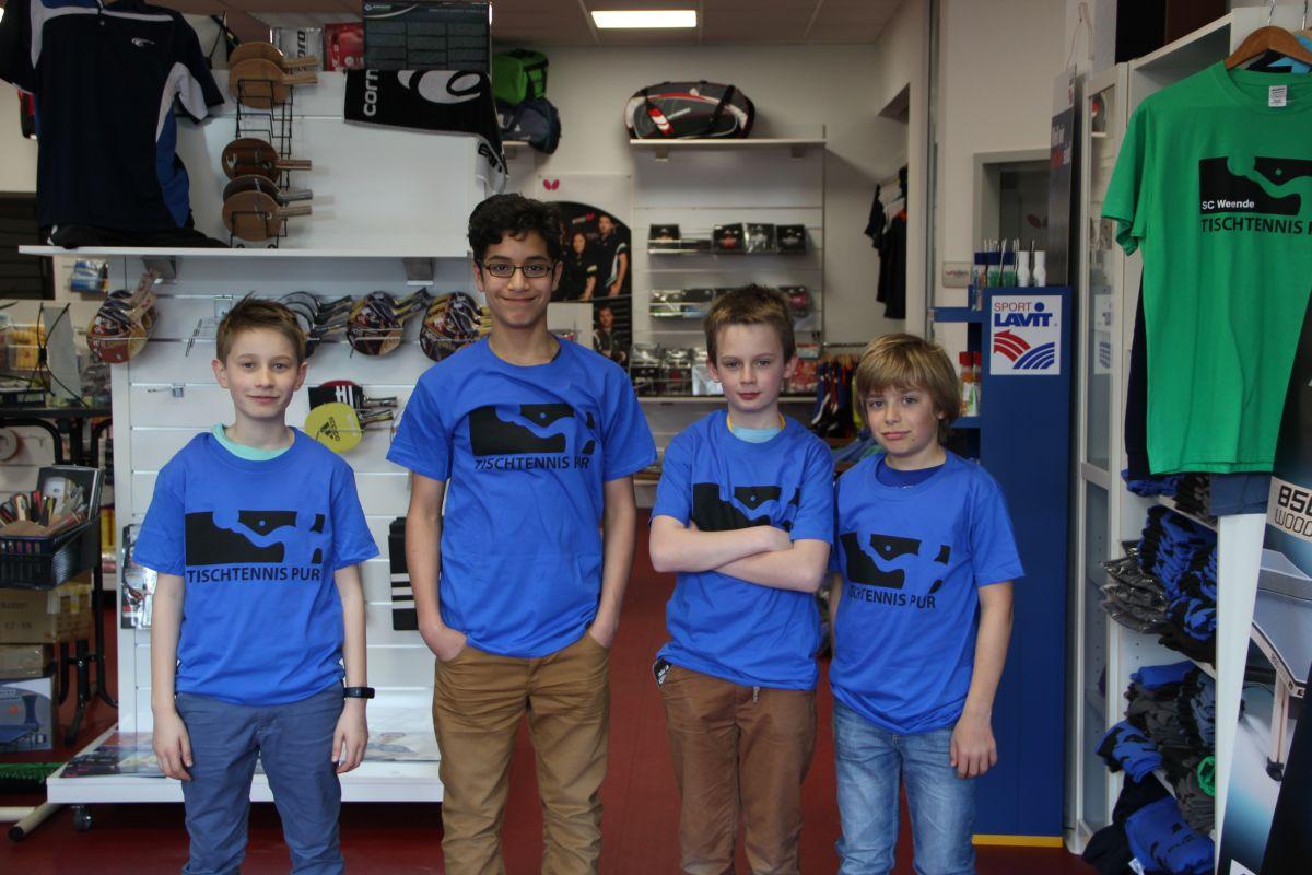 Boys Day / Zukunftstag bei Tischtennis pur