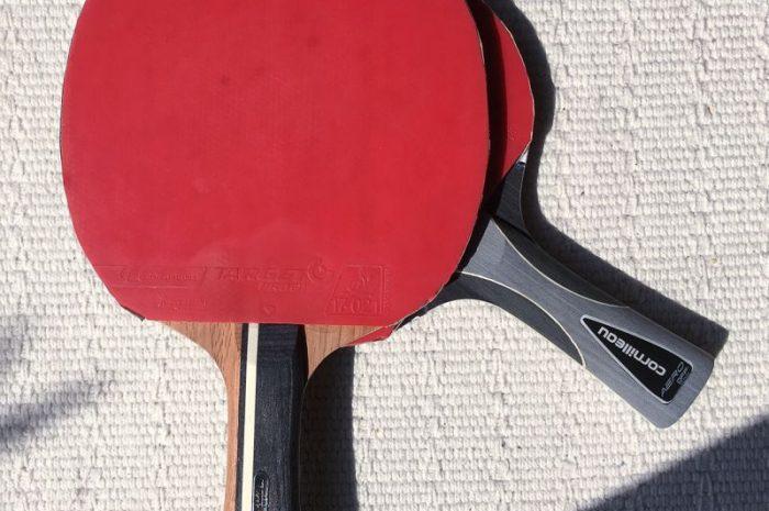 Vergleichstest Tischtennishölzer: Cornilleau Aero Soft Carbon vs. Gatien Soft Carbon