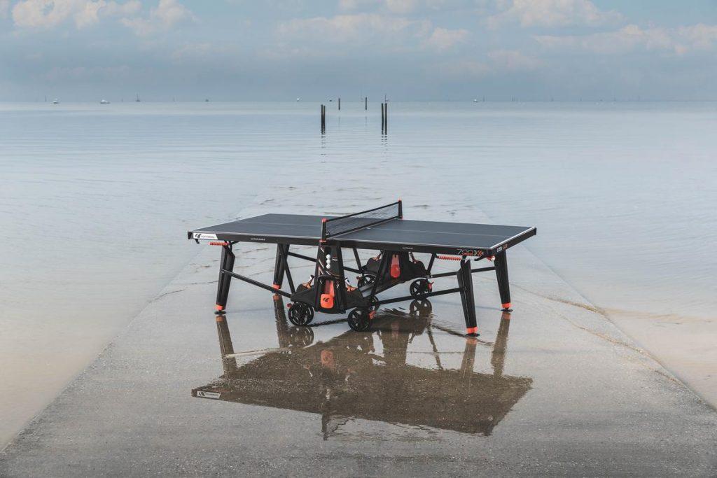 Cornilleau 700X Outdoor - Tischtennisplatte im Meer