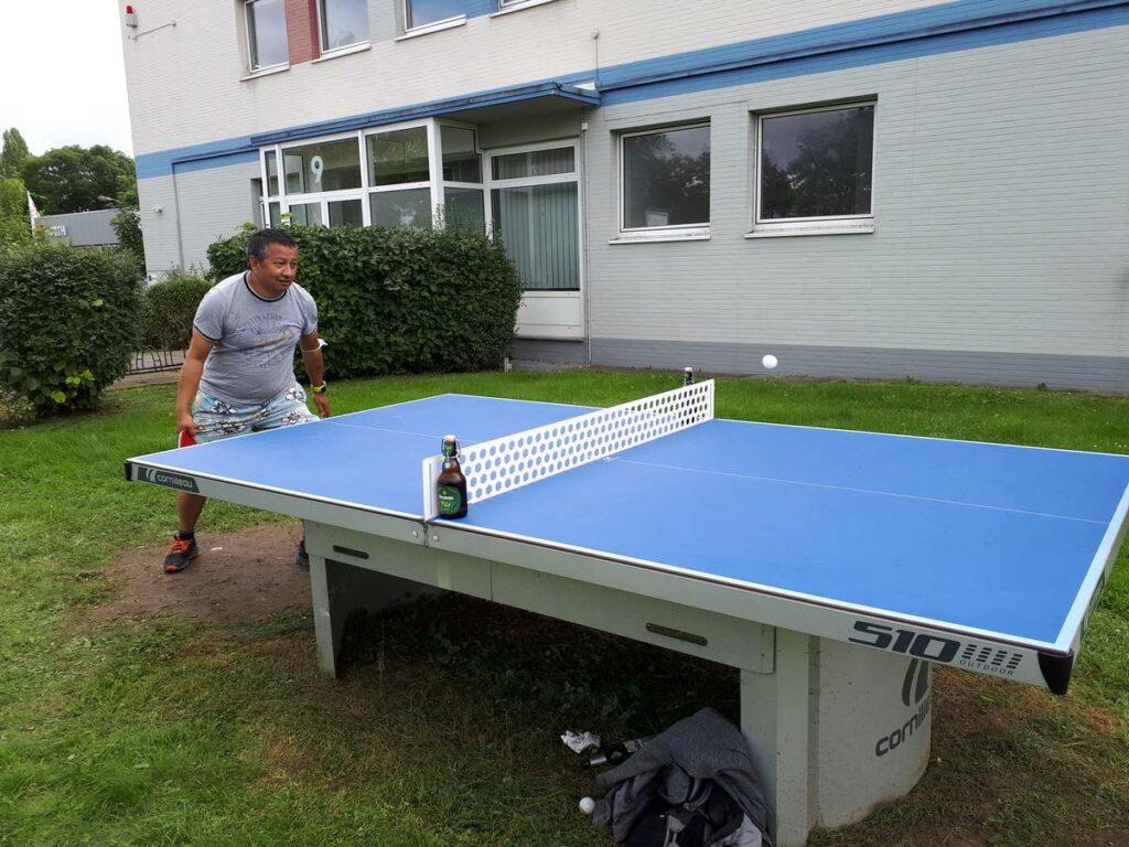 Tischtennis am Cornilleau 510 M